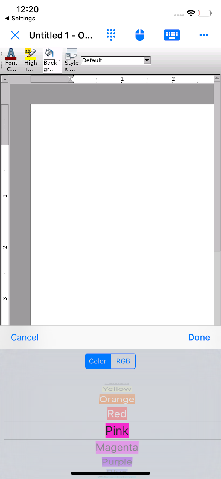Office 700 Blog - OpenOffice for iOS