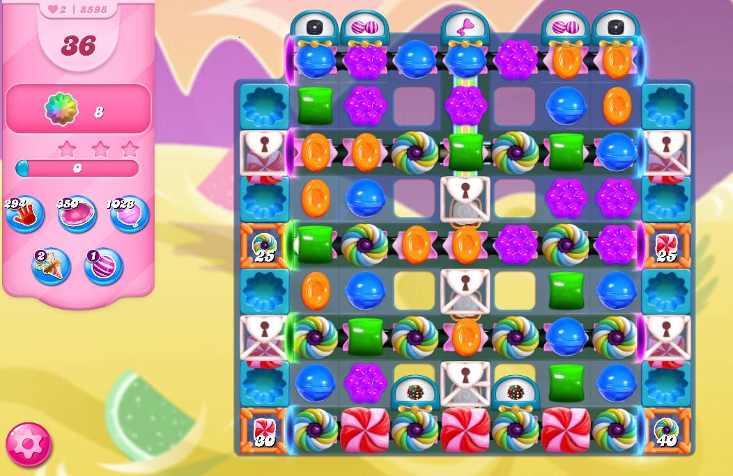 Candy Crush Saga level 8598