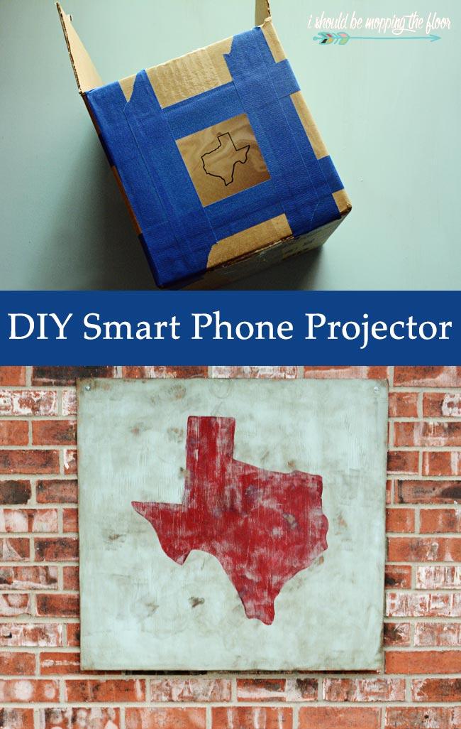 DIY iPhone Projector