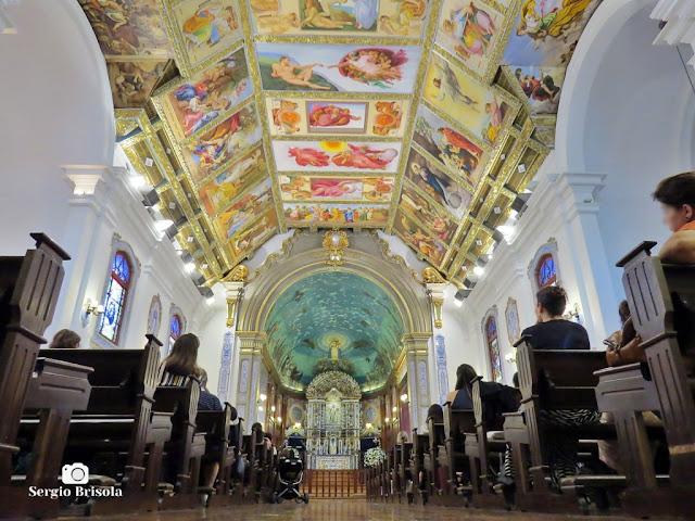 Perspectiva artística do interior da Paróquia Nossa Senhora do Brasil - Jardim América - São Paulo