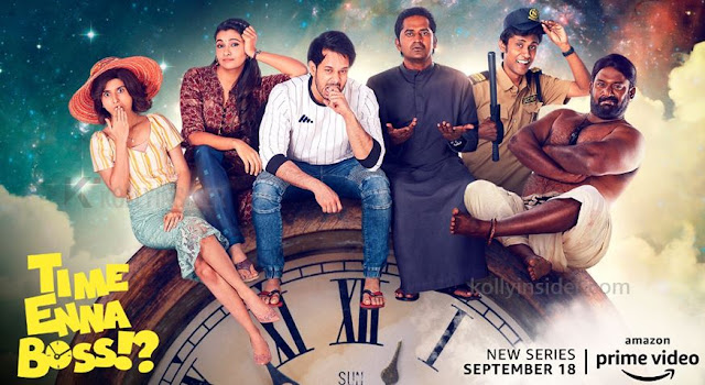 'Time Enna Boss' - Bharath's next on Amazon Prime Video