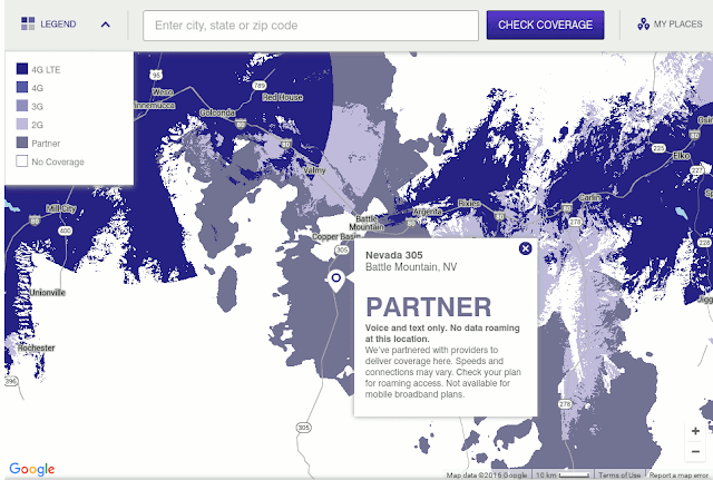 MetroPCS Coverage Map