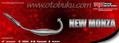 Harga Knalpot R9 New Monza Terbaru dan Terlengkap