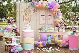 fiesta de unicornio niña