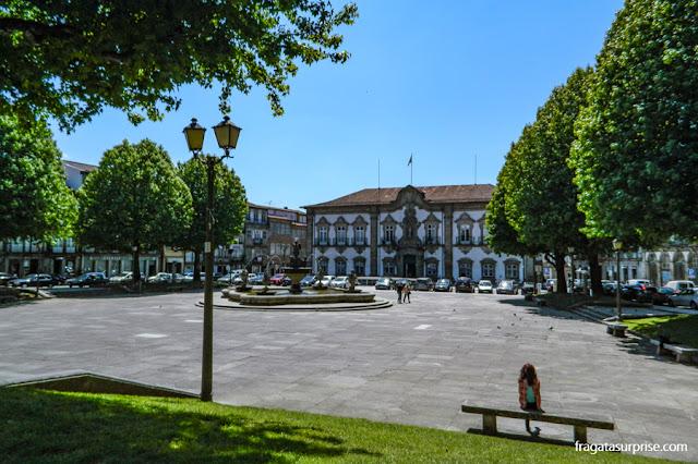 Praça do Município, Braga, Portugal