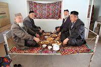 Kyrgyzstan, Arslanbob, Soy Buyi Chaikhana, topchan, © L. Gigout, 2012
