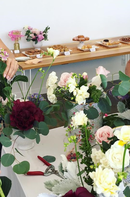 Check out this fun Mother's Day Floral Arranging Workshop!
