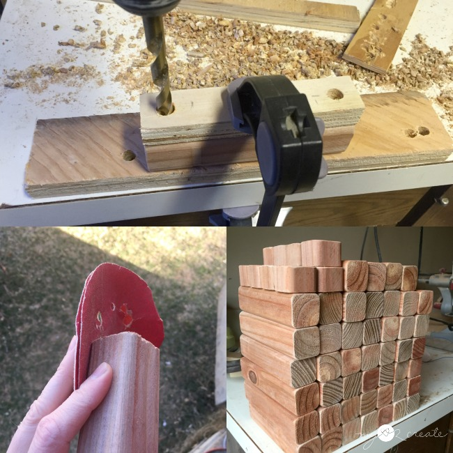 template for drilling multiple holes in perfect placement