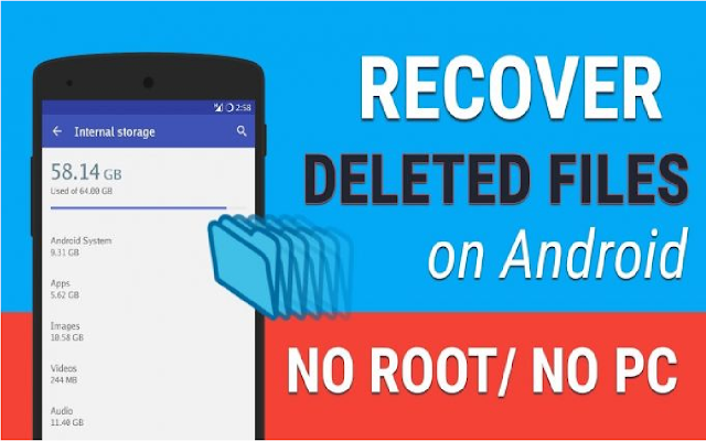 How to recover deleted files from Android - Android Data Recovery