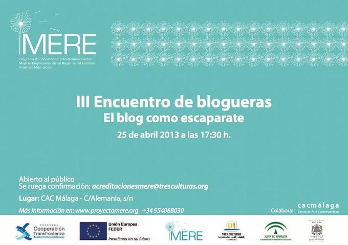 III Encuentro de blogueras: El blog como escaparate