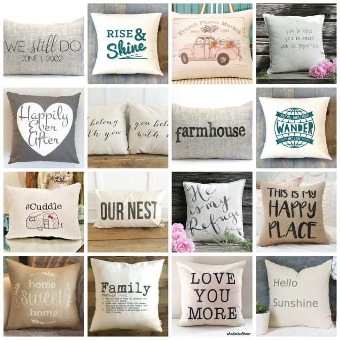 The Best Neutral Pillows with Quotes | DIY beautify