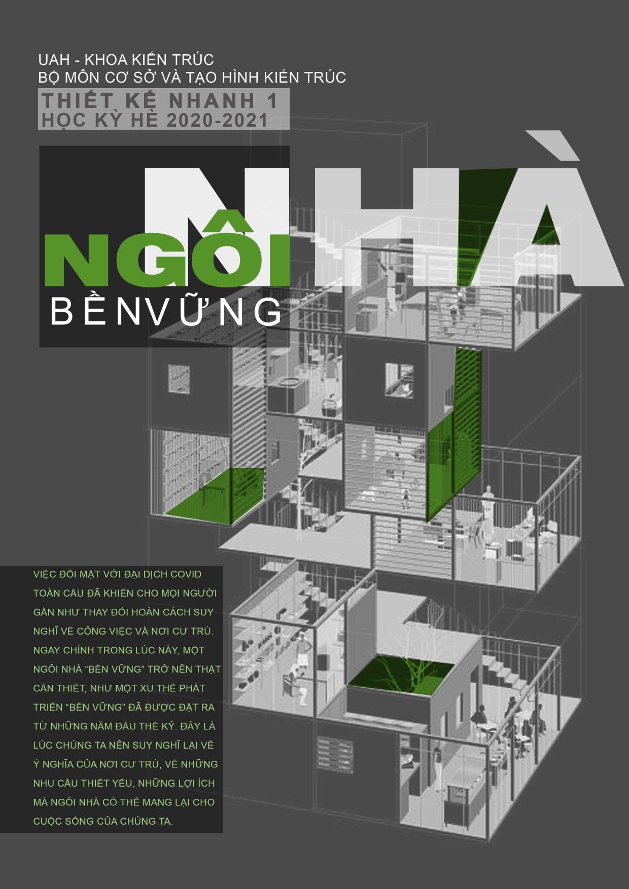 Thiết kế nhanh tại UAH - ngôi nhà bền vững