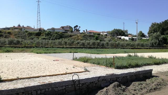 Campo de Voleir de Praia na Praia Fluvial da Ponte do Bico