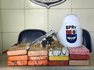 PM reformado é preso com 12 quilos de cocaína no Feitosa, entre em Maceió.