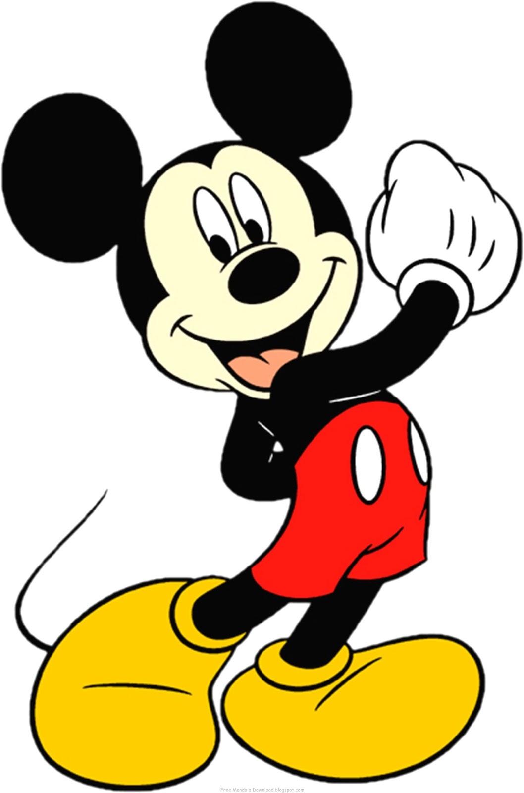 Ziemlich Mickey Maus Malvorlagen Kostenlos Bilder - Malvorlagen Von ...