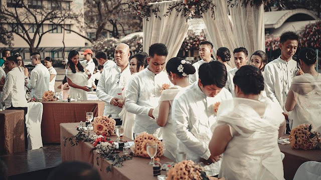 Far Eastern University  5th TAM VOWS Wedding Ceremony