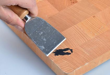 A mi manera c mo quitar manchas de pintura en la madera - Como quitar pintura de la pared ...