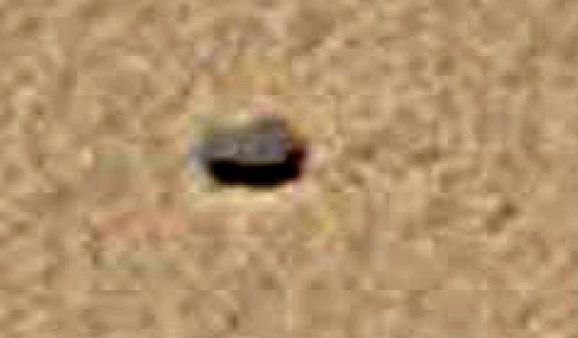 Mars curiosity rover alien life form