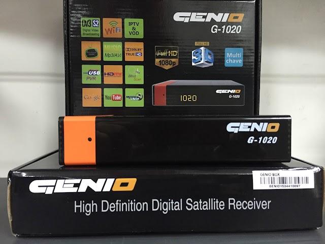 GENIO G1020 HD NOVA ATUALIZAÇÃO - 29/04/2017