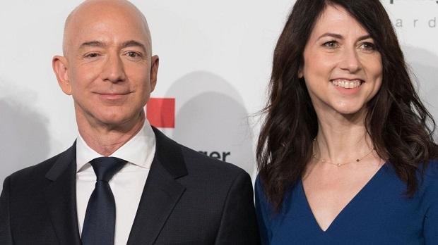 Jeff Bezos l'homme le plus riche du monde pourrait perdre la moitié de sa fortune en divorçant