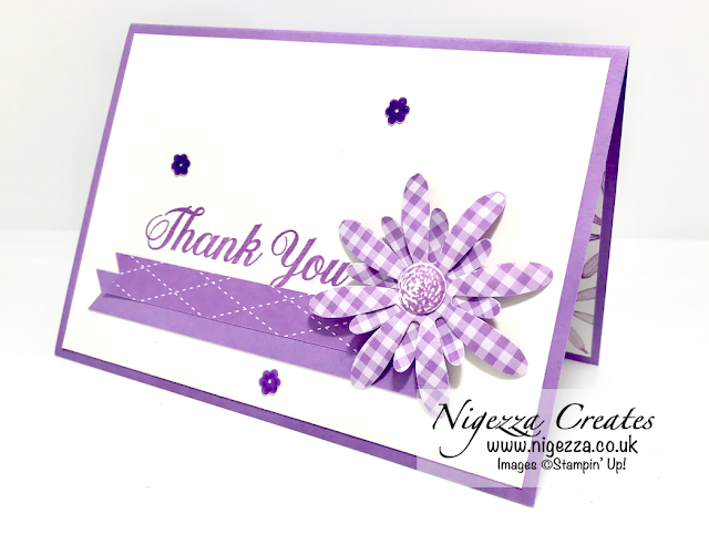 Nigezza Creates with Stampin' Up! Daisy Delight & Daisy Punch