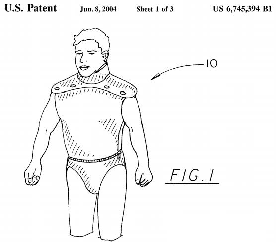 U.S. Patent Number 6,745,394 Figure 1