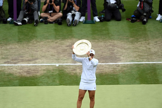 Ashleigh Barty conquista segundo Grand Slam da carreira