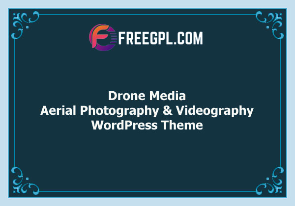 Drone Media | Aerial Photography & Videography WordPress Theme Free Download