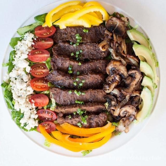 Keto Blackened Steak Salad Recipe