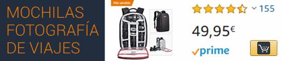 Comprar mochila para cámara fotográfica en Amazon