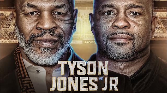 مشاهدة نزال تايسون ضد جون جونيور بث مباشر