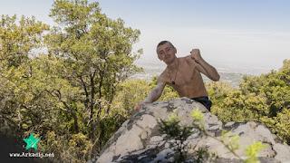 Bergsteigen und Klettern in Kapstadt am Tafelberg