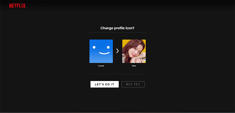 Netflix now allows you to change Profile Icons To BLACKPINK Members!