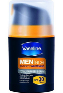 Vaseline Men Face Antispot Whitening Total Fairness Serum