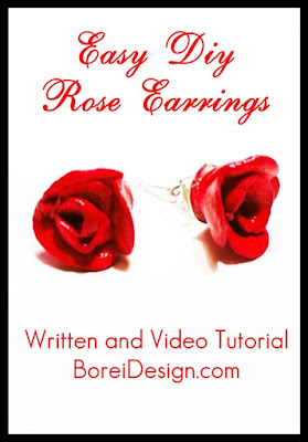 easy-diy-clay-earrings-tutorial-video-how-to-make-flower