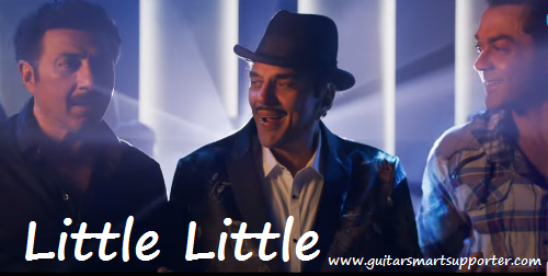 Little Little Guitar Chords with  Lyrics | Yamal Pagla Deewana Phir Se |