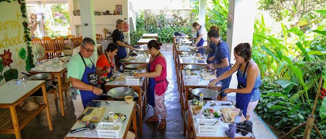 Thai Secret Cooking School & Organic Garden. 4 November 2018