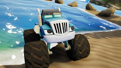 Blaze And The Monster Machines Axle City Racers Game Screenshot 11