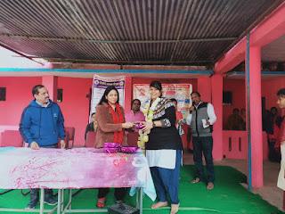महिला बाल विकास विभाग द्वारा किशोरी बालिकाओ की बेटी बचाओ बेटी पढ़ाओ को लेकर कार्यशाला का हुआ आयोजन