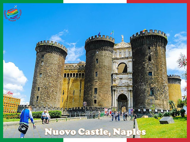 Tourist attractions in Naples, Italy