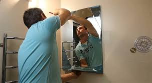 Mirror Installation in the Bathroom