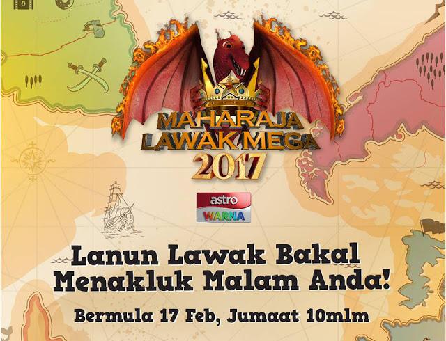Tonton Maharaja Lawak Mega [2017] Minggu Ke-3