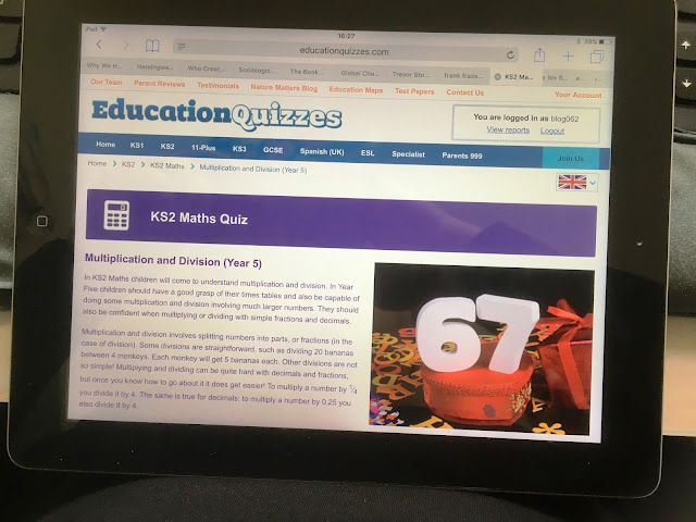 Learning the Fun Way with Education Quizzes - online support for KS1, KS2, 11-Plus, KS3 & GCSE.