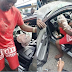 Man Crashes Borrowed Benz While Speeding in Delta State