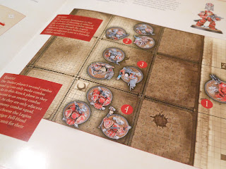 The Horus Heresy: Burning of Prospero combat and movement rules example