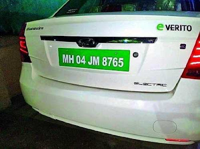 Green Number Plates Is Mandatory