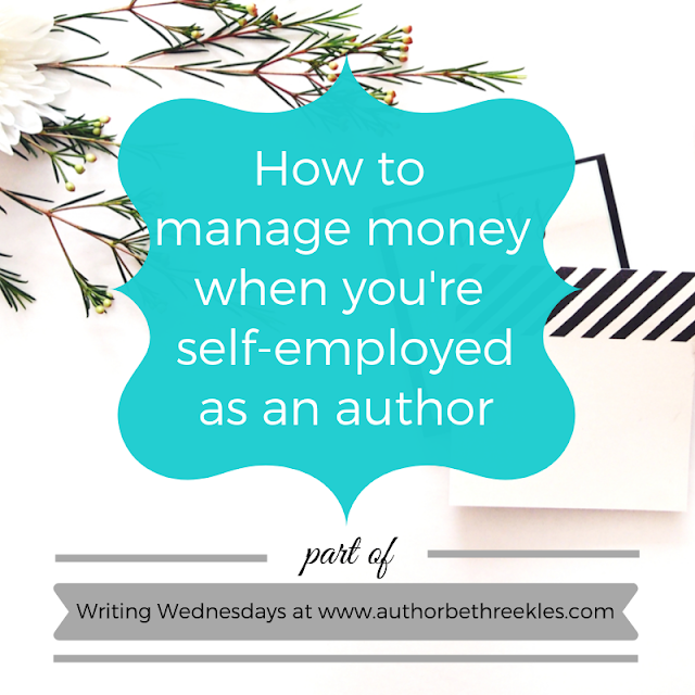 If managing money is something you struggle with as an author, you're not alone. I share a few handy tips to get you started in this post!