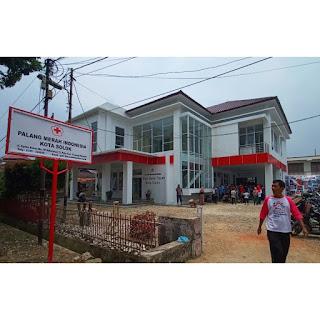 PMI Kota Solok Resmikan Gedung Baru nan Megah