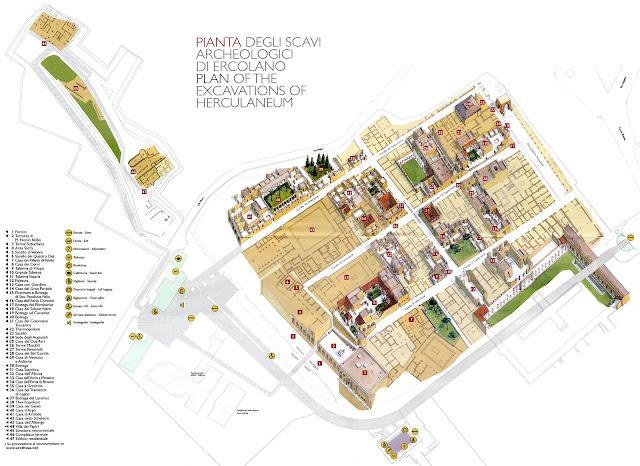 Mapa de Herculano