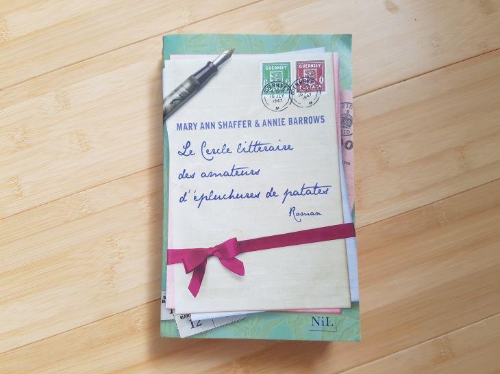 Livre Le Cercle Littéraire des Amateurs d'Epluchures de Patates de Mary Ann Shafer et Annie Barrows